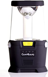 CampGuard LED Lantern with Motion and Motion with Audible Audio Alarm Camping Lantern
