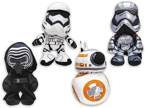 gran selección y entrega rápida Set de 4 Figuras Figuras Figuras de peluche Star Wars  Epidodio VII - 17 cm  tiempo libre