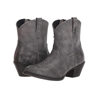 Ariat Dakota (Naturally Distressed Black) Cowboy Boots