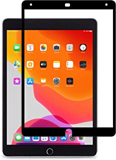 iVisor AG 100% Bubble-free and Washable Screen Protector for iPad - Black (Clear/Matte)