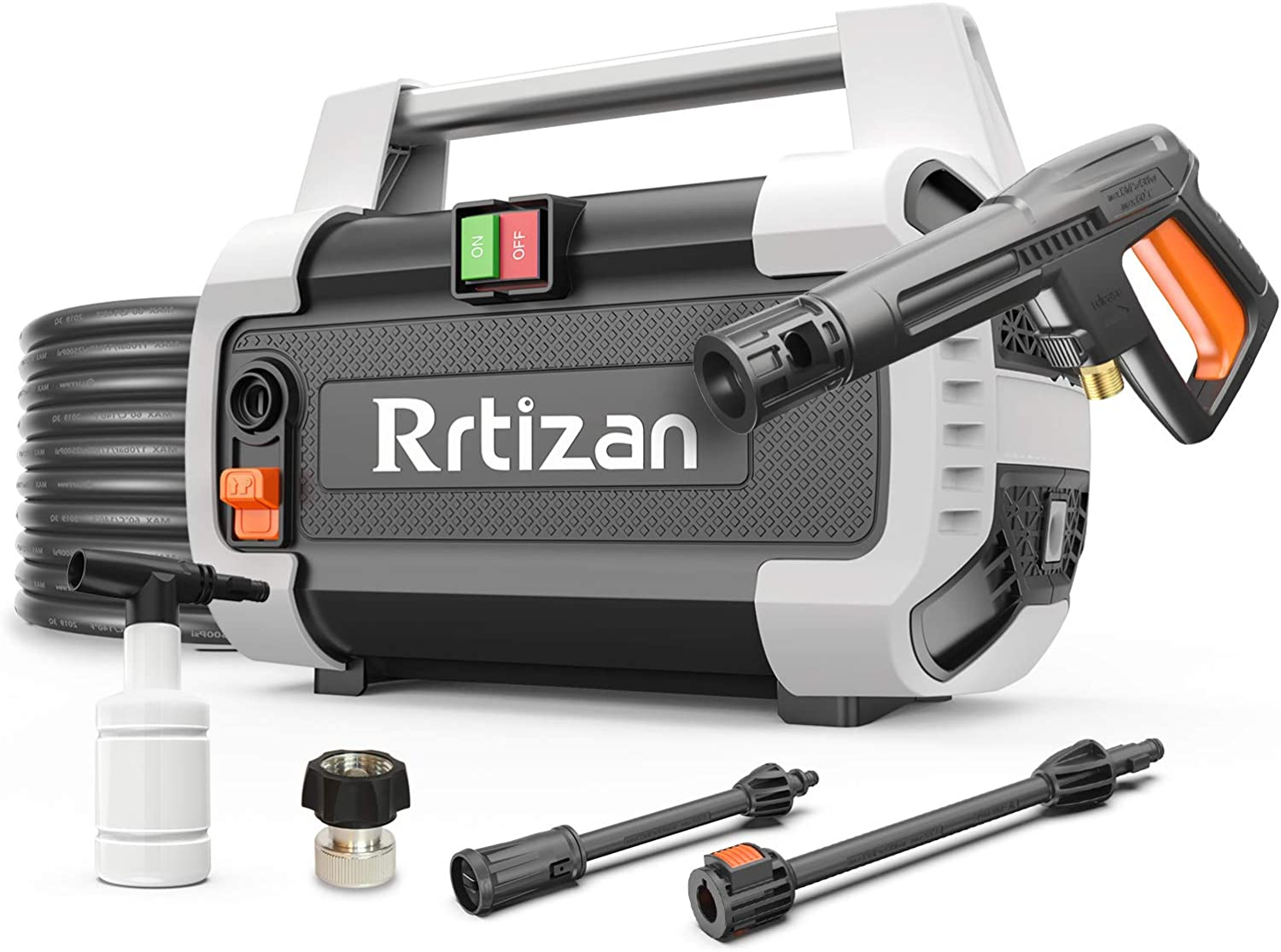 Rrtizan Colorado Springs Mall Electric Pressure Washer 1800W Machi Cleaner Sales for sale High Power