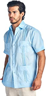 Best mojito collection men's short sleeve guayabera shirt Reviews