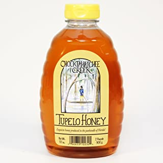 Tupelo Honey 32oz - 2 pound -Two pound Jar- from Sleeping Bear Farms Beekeepers in the Florida Apalachicola River Basin