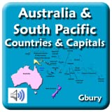 Australia and South Pacific Countries and Capital Cities