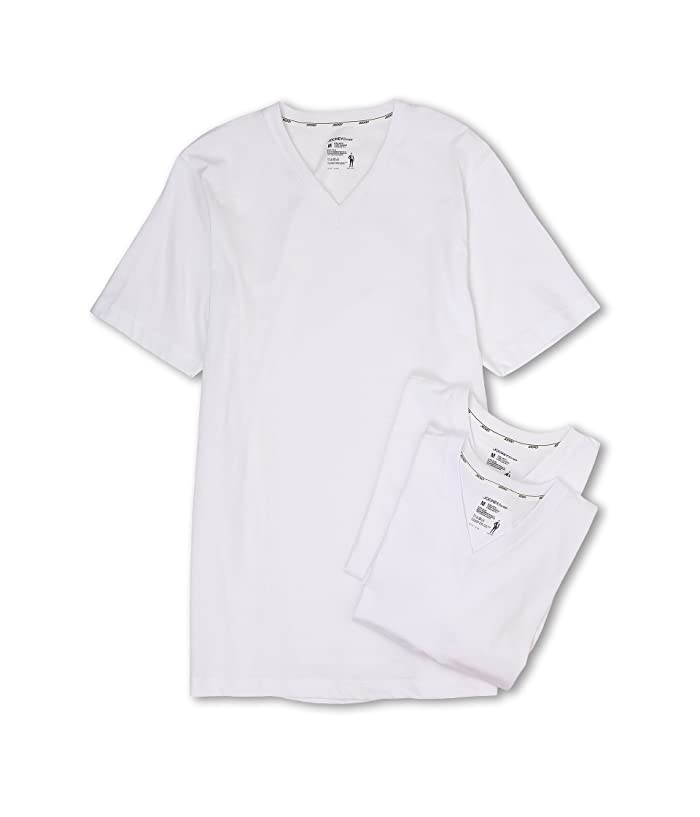 7f252ac75008 Jockey Cotton Slim Fit V-Neck Neck T-Shirt 3-Pack | Zappos.com