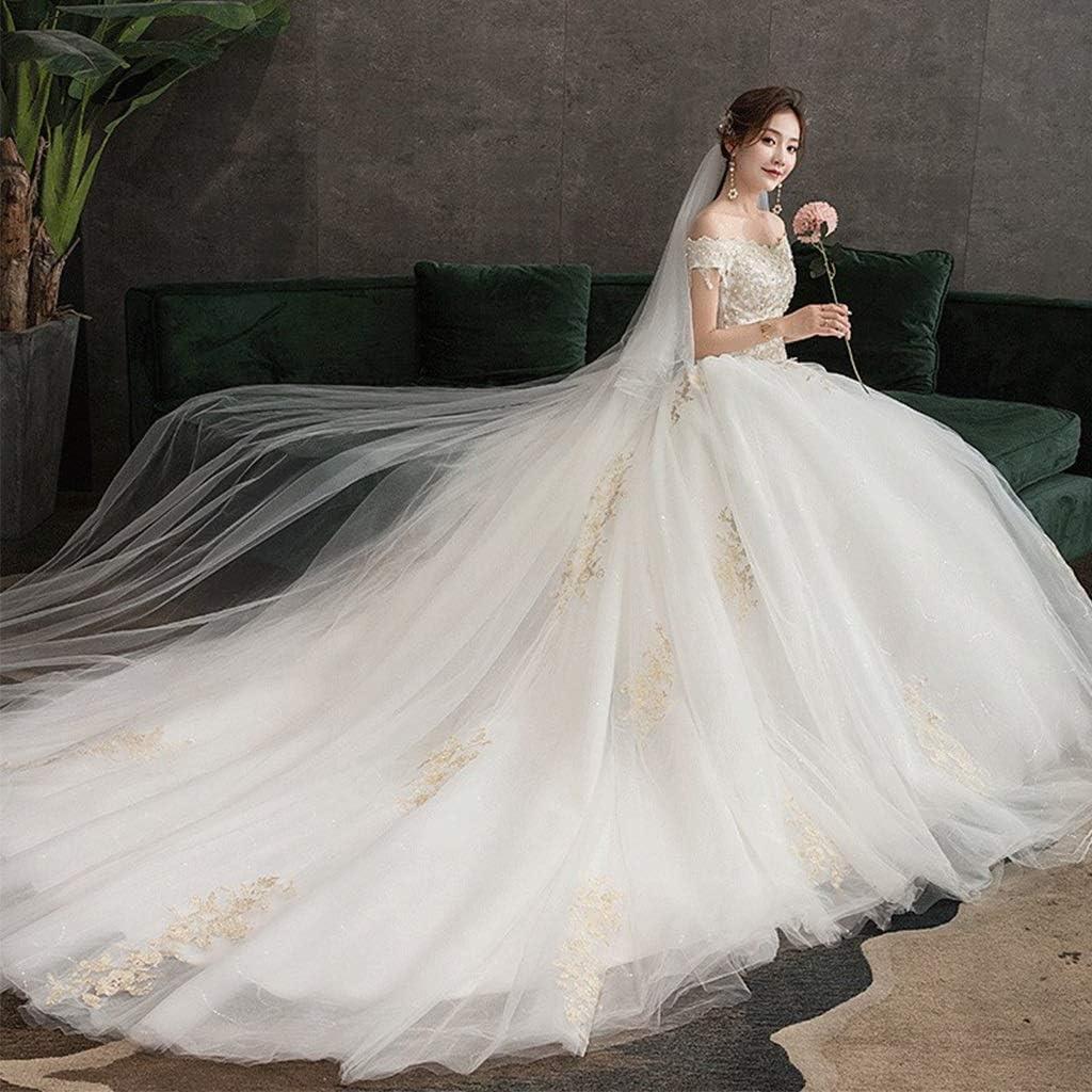 Amazon.com: Train Tail Dinner Wedding Dress,Cocktail Party Bridal