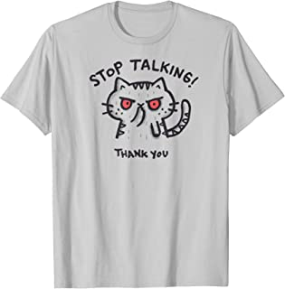 Shirt.Woot: Stop Talking T-Shirt