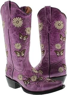 Best purple flower cowboy boots Reviews