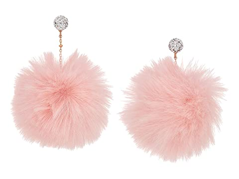 Kate Spade New York Chic and Cushy Linear Pouf Earrings