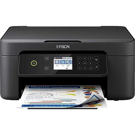 Epson Imprimante Expression Home XP-4100, Multifonction 3-en-1 : Imprimante recto verso / Scanner / Copieur, A4, Jet d'encre 4 couleurs, Wifi Direct, Ecran tactile, Cartouches séparées