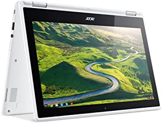 Acer R11 Convertible 2-in-1 Chromebook, 11.6in HD Touchscreen, Intel Quad-Core N3150 1.6Ghz, 4GB Memory, 32GB SSD, Bluetoo...