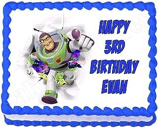 buzz lightyear edible cake image