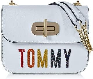 Luxury Fashion | Tommy Hilfiger Womens AW0AW06702404 Light Blue Shoulder Bag | Spring Summer 19