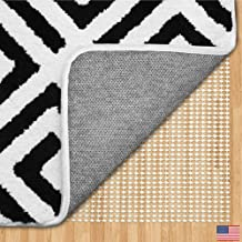 Gorilla Grip Original Area Rug Gripper Pad, 5x7 Feet, Made in USA, for Hard Floors, Pads Available in Many Sizes, Provides Protection and Cushion for Area Rugs, Carpets and Floors