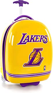 "Heys America Los Angeles Lakers Officially Licensed Boy's 18"" Carry-On Wheeled Luggage"