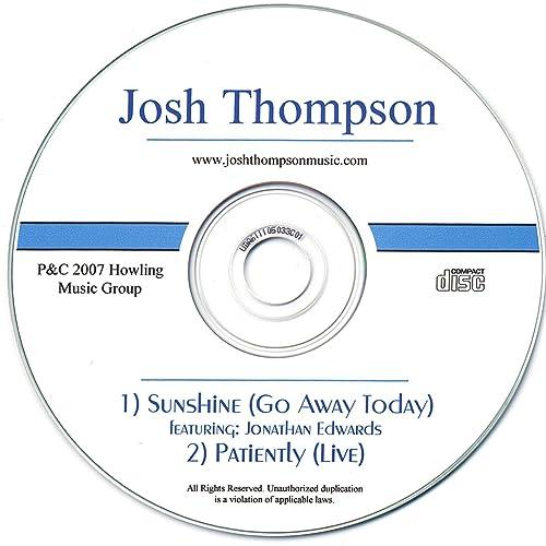 Sunshine Featuring Jonathan Edwards -Single