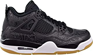 Air Jordan 4 Retro SE (GS) Big Kids Shoes Black/White Gum/Light Brown ci2970-001