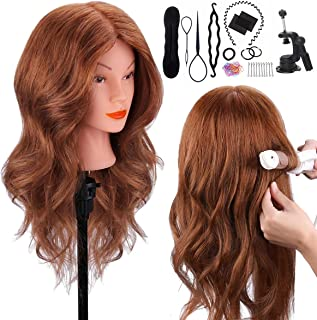 Mannequin Head with 100% Human Hair, TopDirect 18