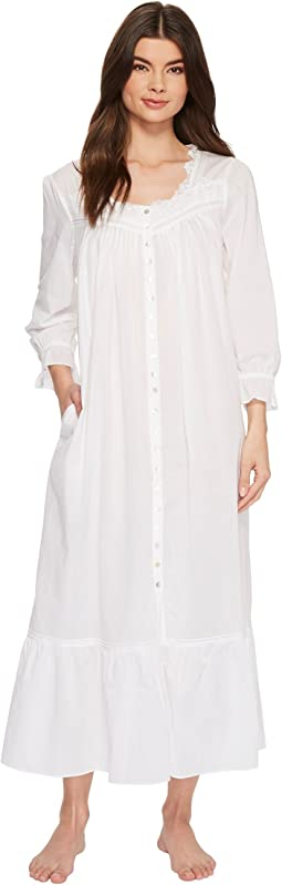 Eileen West - Cotton Lawn Ballet Button Front Gown