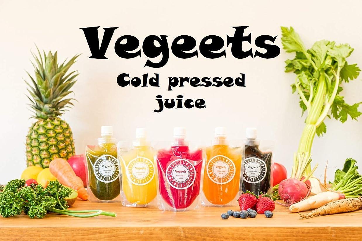 スクリーチエピソード野望「Vegeets(ベジーツ)」コールドプレスジュース 【お試しクレンズセット6本(5種類+ランダム1種類)】