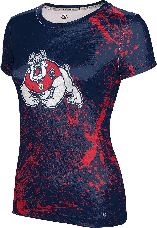ProSphere Fresno State University Girls' Performance T-Shirt (Splatter)