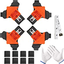 LOPOTIN 6 Stück Eckenspanner Set DIY Handwerkzeuge Eckklemme Rechtwinklige Winkelspanner..