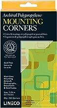 Lineco Self-Adhesive Polypropylene Mounting Corners - 1.25