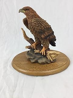 会話概念Golden Eagle Figurine ブラウン BF34B