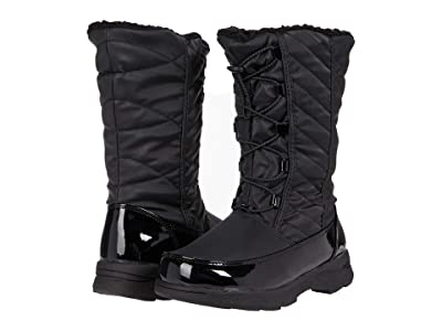 Tundra Boots Kids Samara (Little Kid/Big Kid) (Black) Girls Shoes
