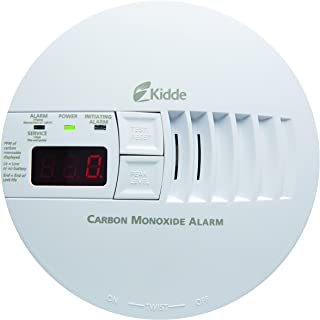 Kidde - 21006407 AC Hardwired Operated Carbon Monoxide Detector Alarm with Digital Display   Model KN-COP-IC