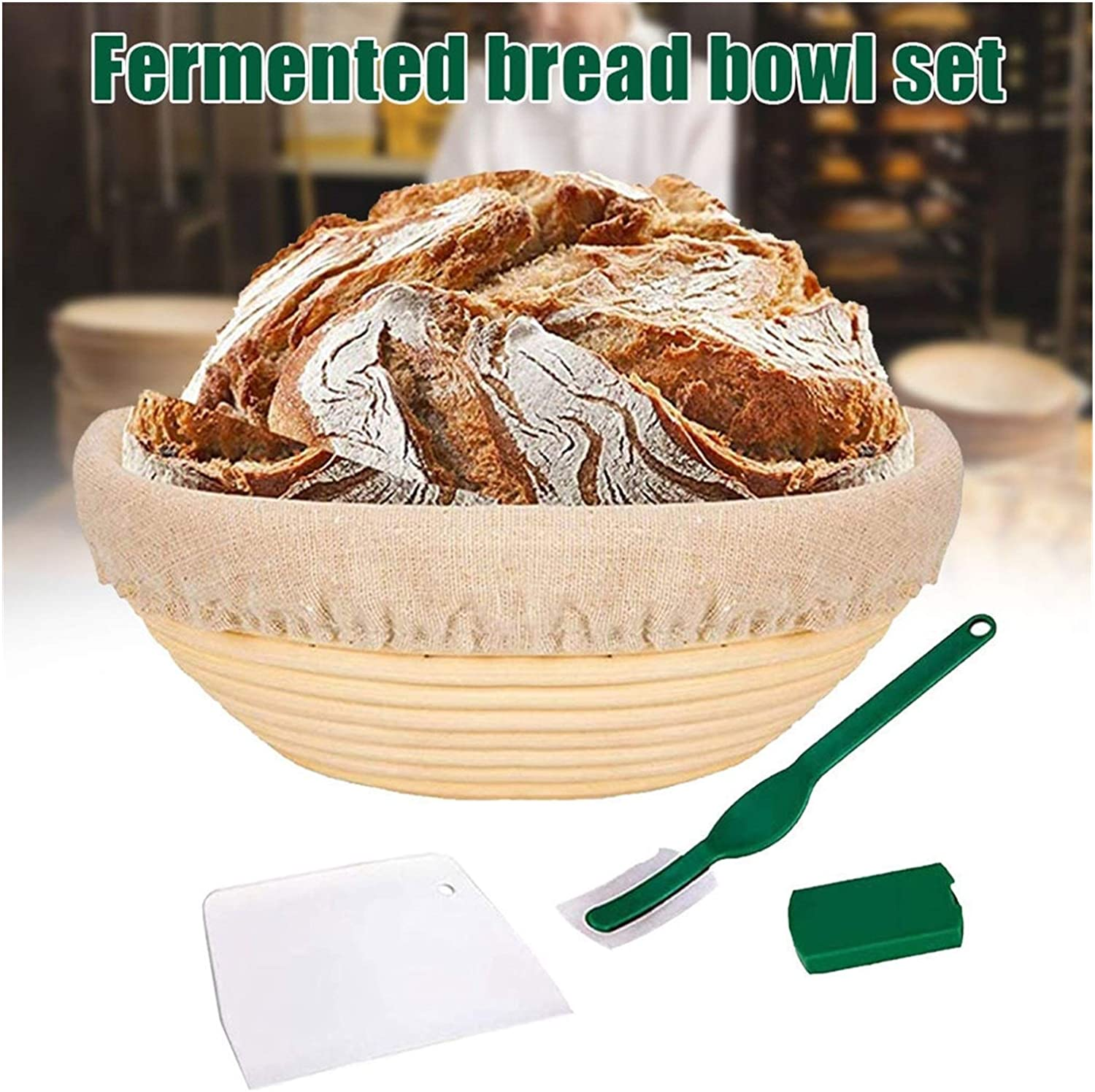 Super beauty product restock quality top! YWSZY Bread Proofing Baskets 9 wi shopping Basket Set Inch