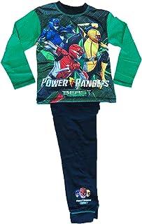 Pigiama Lungo da Ragazzo Power Rangers Beast Morpher da 4 a 10 Anni