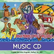Vacation Bible School (VBS) 2018 24/7 Music CD: Jesus Makes a Way Every Day!
