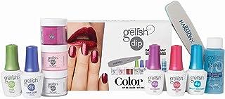 Gelish Soak Off Acrylic Powder Nail Polish Dip Manicure Set Color Kit