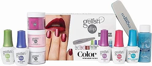 Hand & Nail Harmony Gelish Acrylic Powder Color Dip Nail Kit