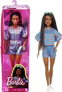 Muñeca Barbie Fashionista Cabello Negro Trenzado