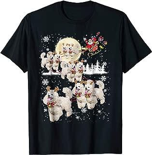 Poodle Reindeer Christmas - Nice Dog Tshirt