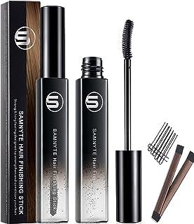 Hair Finishing Stick, 2Pack ×18ML Fly away Hair Tamer Stick Lasting Shaping Cream Broken Hairs Finishing Feel Gel Moisturi...