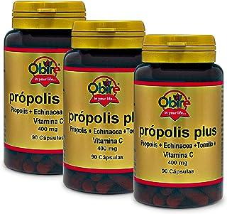 Própolis plus 400 mg 90 cápsulas. (Pack 3 unid.)