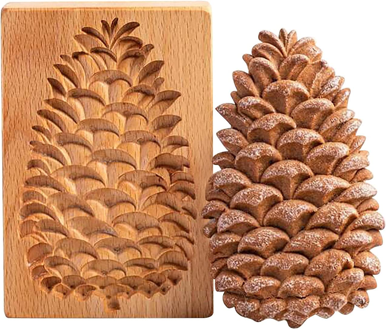 Sdoveb Cookie Sale special price Indefinitely Cutter Embossing Wooden Mold Ginger