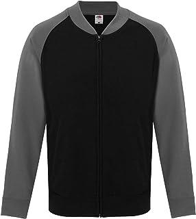 Fruit of The Loom SS929 Baseball Sweatshirt Jacket Blank Plain