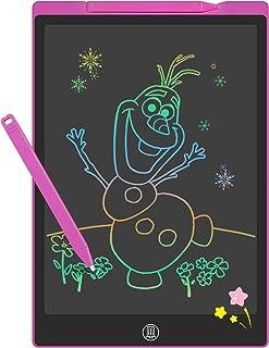 GUYUCOM Tablette Dessin Enfant 12 Pouces, Tablette D'écriture, Tablette Ecriture Enfant Améliorée, Tablette Magique Enfant...