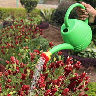 Go Hooked Plastic Watering Can for Plants (Green) (1.8 Litre)