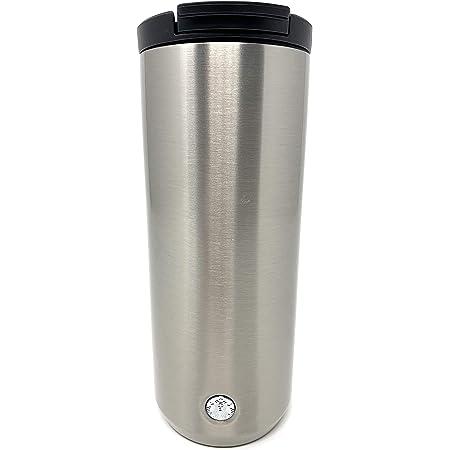 Amazon Com Starbucks Vacuum Insulated Traveler Tumbler Coffee Mug 12 Oz Silver Stainless Steel Kitchen Dining