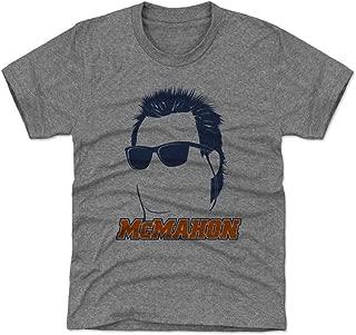 500 LEVEL Jim McMahon Chicago Football Kids Shirt - Jim McMahon Silhouette
