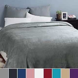 Bedsure Mantas para Sofás de Franela 220x240 cm - Mantas
