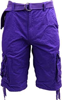 Tank Chocie Men's Light Twill Cargo Shorts- Size 30 to 58 and 21 Variety Colors