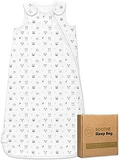 Organic Baby Sleep Sack Wearable Blanket - Baby Sleeping Bag 0 - 24 Months - Baby Swaddle Blankets for Boy, Girl, Infant -...