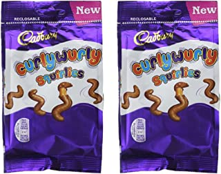 Cadbury Curly Wurly Squirlies Bag 110g x 2