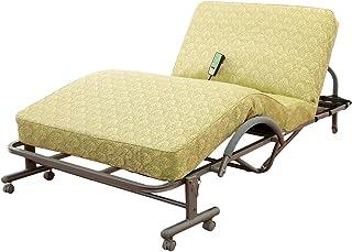 電動リクライニングベッド 極厚高反発スプリングマット 収納式 シングル